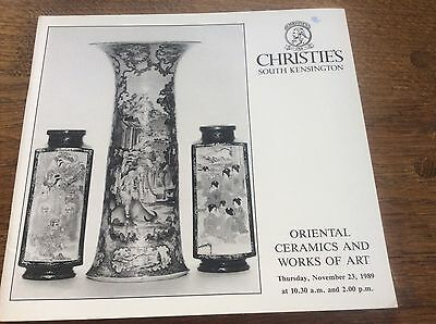 Christies Catalogue Oriental Ceramics and Works of Art Japanese Chinese 231189