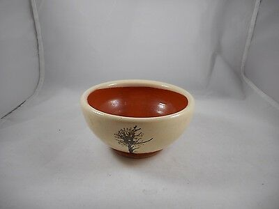 Henry Ford Museum Greenfield Village Redware Pottery Bowl