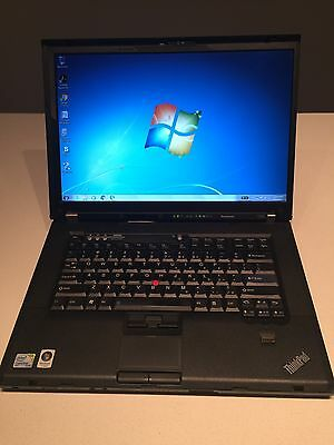 Lenovo T500 ThinkPad Laptop Intel C2D 2.53Ghz, 4GB DDR3,Webcam, Boot to bios