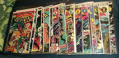 tomb of dracula 18 issue bronze age lot marvel horror blade appearance 1st print