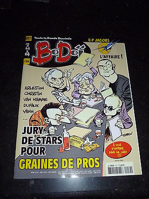Bodoï 59 - Arleston, Jacobs, Christin, Van Hamme, ... etc  - janvier 2003