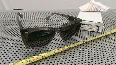 Vintage Green Safety Glasses w/ Green Side Shield - Steampunk ? - NEW in Box