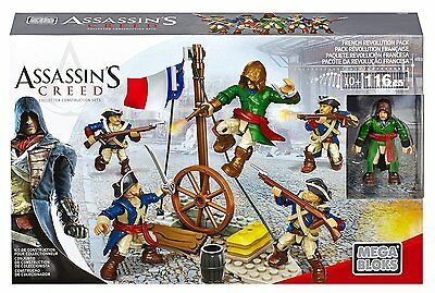 Mega Bloks ASSASSIN'S CREED FRENCH REVOLUTION PACK Reference 94320 - 116 Pieces