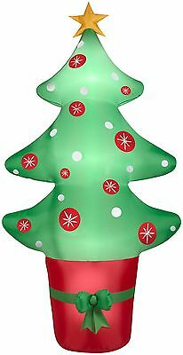 Airblown 8' Inflatable Christmas Tree - Easy Set-Up, Self-Inflates in Seconds