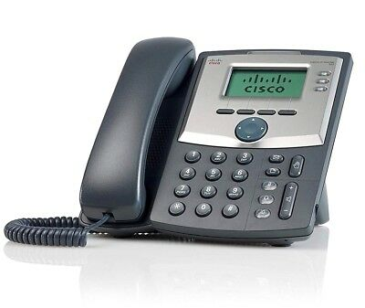 Cisco SPA303 3 Line IP Phone with Power Adapter / SPA303 / Brand New