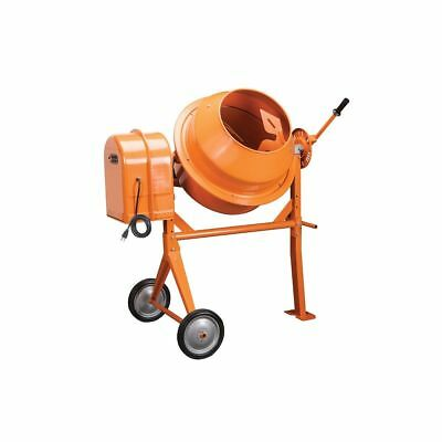 3-1/2 Cubic Ft. Portable Solid Steel Stucco, Mortar, Cement Mixer NEW FREE FEDEX