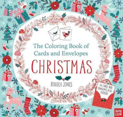 The Coloring Book Of Cards And Envelopes Christmas - Jones, Rebecca (Ilt) - New