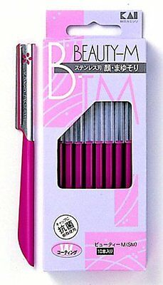 KAI Razor for Women's Face Eyebrow Shaving Care Beauty-M #258 F/S