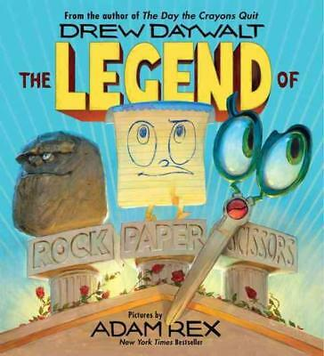 The Legend Of Rock Paper Scissors - Daywalt, Drew/ Rex, Adam (Ilt) - New Hardcov