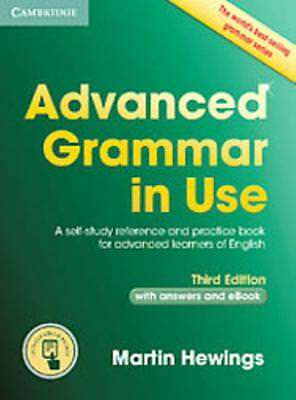 Advanced Grammar In Use - Hewings, Martin - New Mixed Media Product