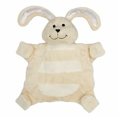 Baby sleepytot bunny, dummy holder, comforter blanket - Small Cream FREE POST