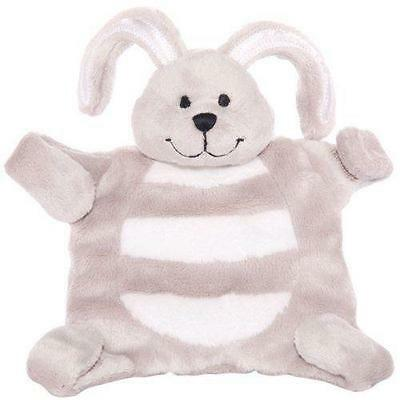 Baby sleepytot bunny, dummy holder, comforter blanket - Small Grey FREE POST