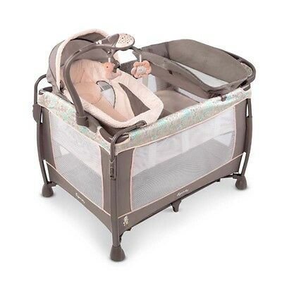 Portable Playard for Baby Changer Bassinet Folding Sheet Washable Piper Nursery