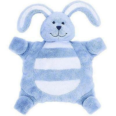 Baby sleepytot bunny, dummy holder, comforter blanket - Small Blue FREE POST