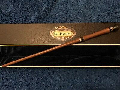 "Pius Thicknesse Wand 14.5"", Harry Potter, Ollivander's, Noble, Wizarding World"