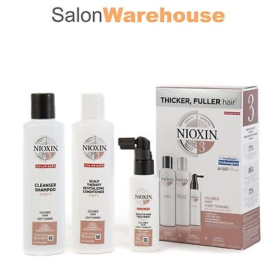 Nioxin Hair System 3 Starter Kit
