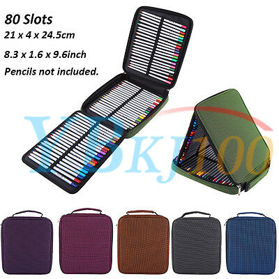80 Slot Marker Pen Storage Case Carrying Bag Holder Organized For Touch Copic TP