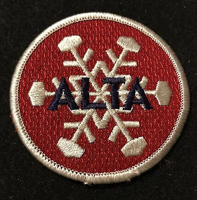ALTA Vintage NOS Skiing Ski Patch UTAH UT Resort Souvenir Travel UNUSED