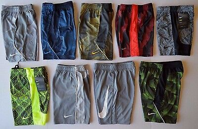 Boy's Nike Dri-Fit Polyester Athletic Shorts