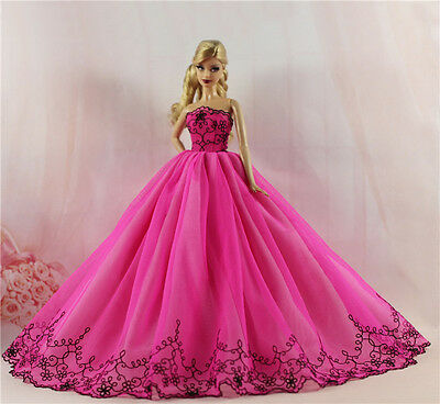 Fashion Royalty Princess Dress/Clothes/Gown For Barbie Doll S512