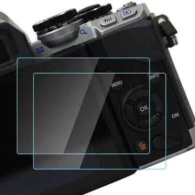 9H hard HD Tempered Glass LCD screen protector Protection Film for Olympus E-M10