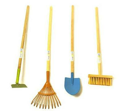 Long Toy Gardening Tools Set - 4 Pieces - Twigz