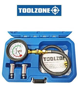 Toolzone 3 Piece Petrol Compression Tester AU071