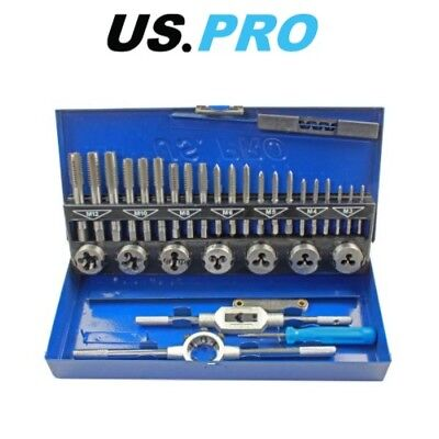 BERGEN 32pc METRIC TAP AND DIE M3-M12 SET  B2553
