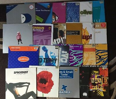 Joblot Of 23 Dance Records Vinyl