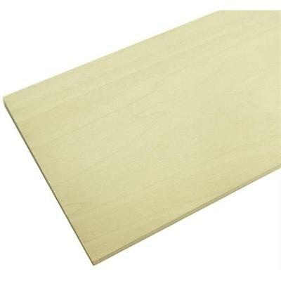 250mm Wide Basswood Panel 500 x 250 x 1.5mm Solid Wood Panel