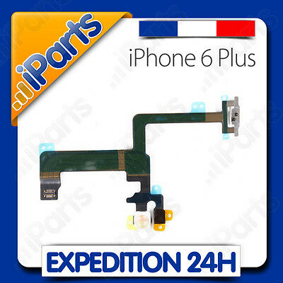 Nappe Bouton Power On / Off + Flash + Micro Secondaire - Iphone 6 Plus
