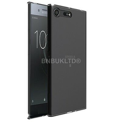 Transparent Clear Silicone Slim Gel Case For Sony Xperia XZ Premium