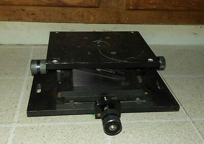 "XYZ 3 Axis Linear Stage Trimming Platform Bearing Tuning Sliding Table 5"" x 6.5"""