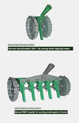 █ LOT x 2 pcs. Garden Precision Seeder - Vegetable Manual Planter