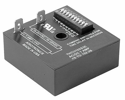 Airotronics Encapsulated Timer Relay, Function: On Delay, Status Indicator: