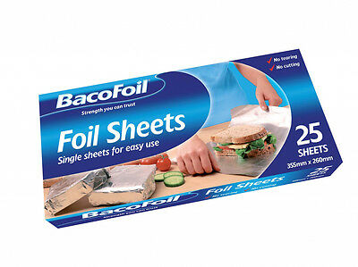 Bacofoil Sheets Pack of 25