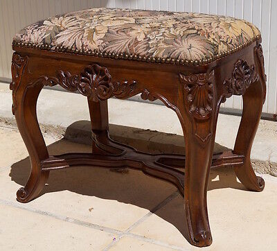 French Regency Style Footstool inc. Reupholstery (exc. fabric)