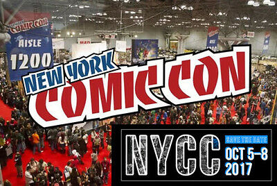 NYCC New York Comic Con Sunday KIDS Passes! (PRICE FOR 2 PASSES)