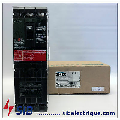 Ced63B070 New In Box Siemens Circuit Breaker Type Ced6 3P-70A-600V