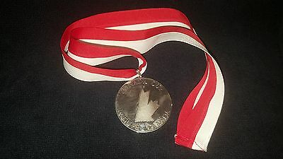 1991 Canada Cup Silver Medal Presented To The United States Players