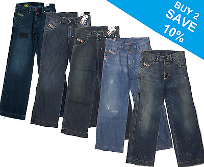 Diesel Pumix Junior Boys Jeans Denim Age 8 Years - 5 Styles To Choose From