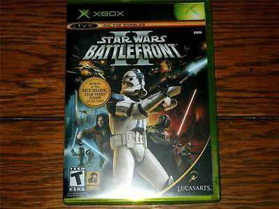 XBOX STAR WARS: BATTLEFRONT II ~ *Case & Art ONLY - NO DISC/NO GAME - NEW