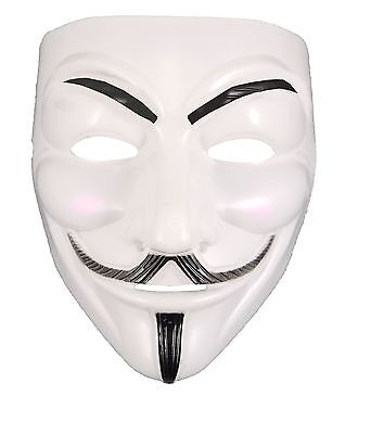 Vendetta Mask Anonymous V Guy Fawkes Fancy Dress Halloween Face Mask