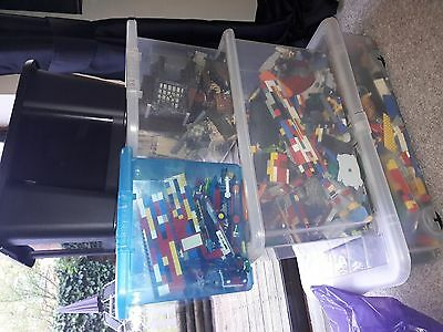 5000+ Lego and MegaBloks models and pieces (including mini figures)