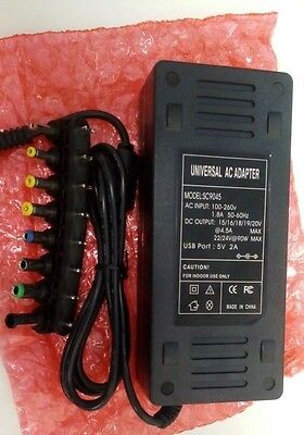 90W Universal AC Adapter Power Supply Battery Charger cord for Laptop Notebook