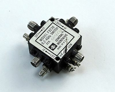 General Microwave GM F9230 Broadband SP3T RF Switch - 0.2-4 GHz