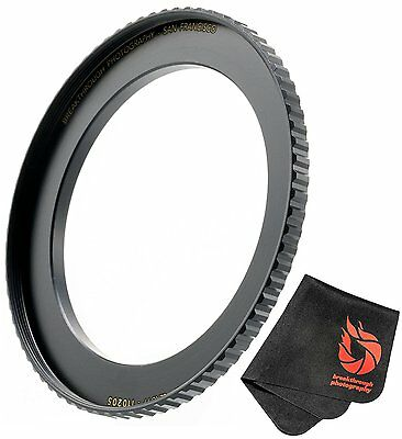 Breakthrough Photography 58mm to 77mm Step-Up Lens Adapter Ring For Filters, Of