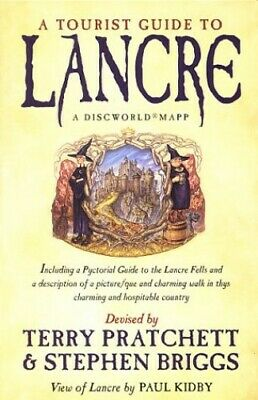 A Tourist Guide To Lancre: A Discworld Mapp by Pratchett, Terry Paperback Book