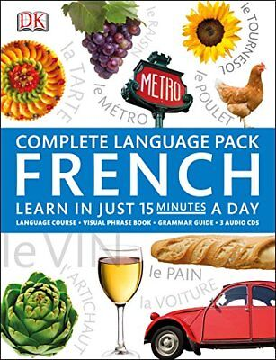 Complete Language Pack French, DK Book The Cheap Fast Free Post