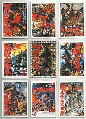 1995 Godzilla Trading Collection Complete Set of 101 Cards & 8 Checklists NO #97
